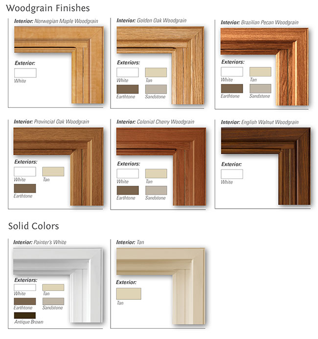 Windows Color Options Premium Window Amp Door Replacement
